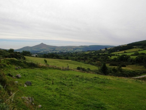 Panorama desde Glencree