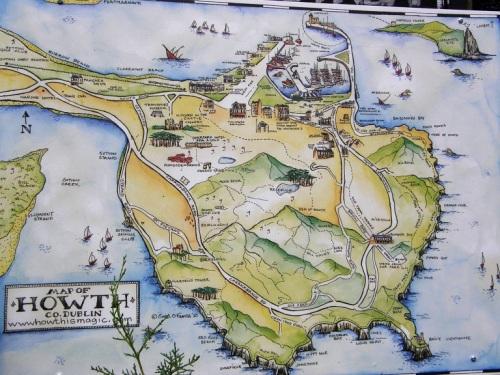 Howth mapa
