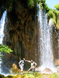 Plitvice cascadas