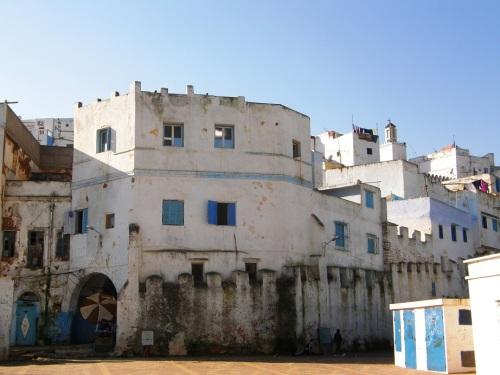 Medina de Larache desde el puerto
