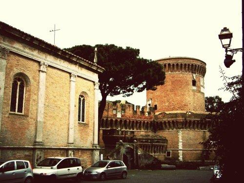castello burgo di ostia