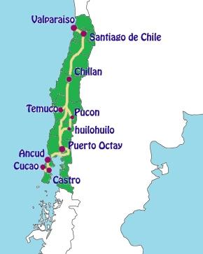 southside  mapa