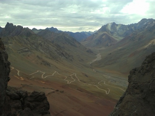 camino argentino de bajada