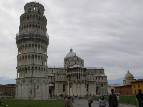 duomo y campanile en Pisa
