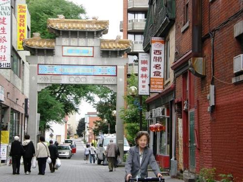 Quartier chinoise montréal