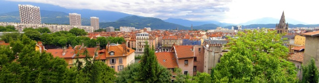 Grenoble skyline